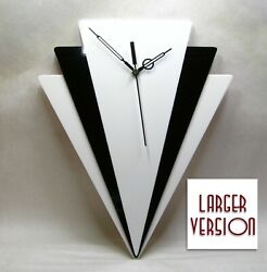 Handmade, Art Deco Style wall clock 01L, 13, 1930s clock, USA, Retro, New