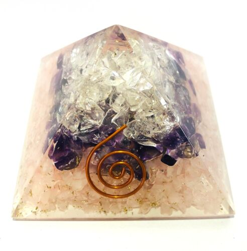 Quartz Amethyst Rose Quartz Orgone Feng Shui Bagua Crystal Healing Metaphysical