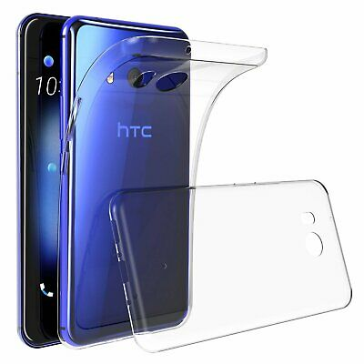 Clear TPU Protective Shockproof Case Cover Guard Shield Saver For HTC U11 (Htc Protective Case)