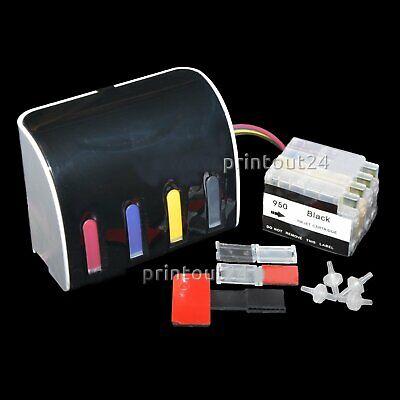 Elegant CISS InkTec® Nachfüll Tinte refill ink set für HP Designjet T120 T150 gebraucht kaufen  Großmehring