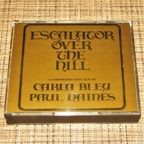 ESCALATOR OVER THE HILL ~ Carla Bley / Paul Haines ~ exc 2 CD set JCOA 839 310-2