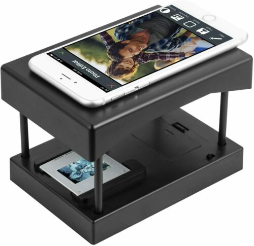 Mobile Film and Slide Scanner, Converts 35mm Slides Negative