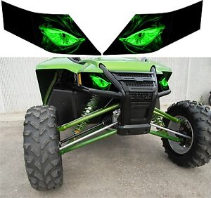 ARCTIC-CAT-headlight-decal-sticker-1000-WILDCAT-wild-trail-4-x-limited-sport-4x4