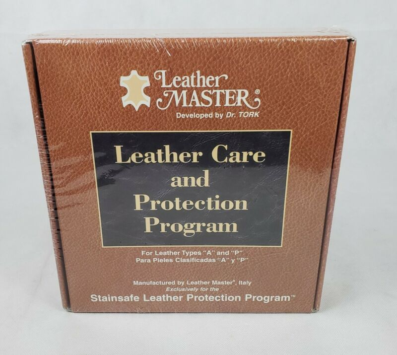 Leather Master Dr Tork LEATHER Care And Protection kit new sealed