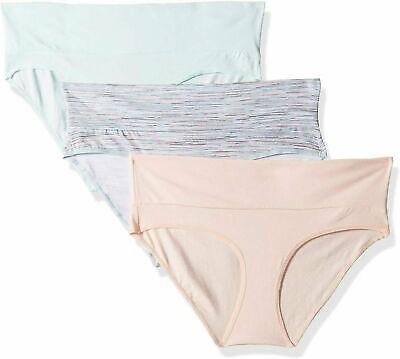 Motherhood Maternity Women's 3 Pack Fold Over Brief Panties 2X Maternity Brief Panty