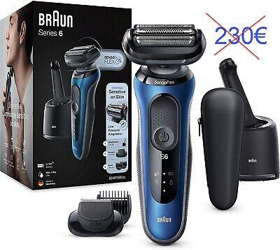 Braun Series 6 60-B7500cc Afeitadora Eléctrica, máquina de afeitar barba hombre