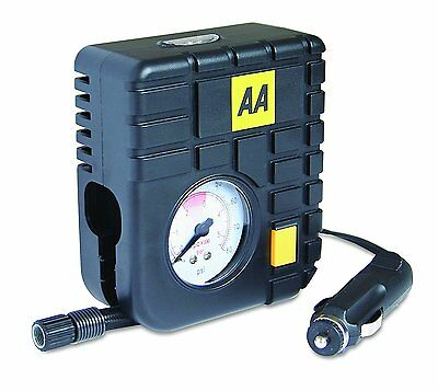 Tyre Inflator Air Tool 12v AA Top of the Range Travel Essentials Heavy Duty Pump