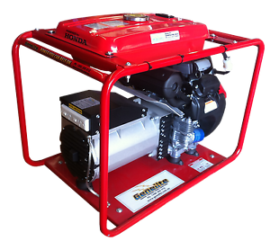 GH10,000E-LRT 11.0kVA Honda Powered Petrol Generator Salisbury Brisbane South West Preview