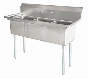 Commercial Sinks On Ebay : Commercial Stainless Steel Sink eBay