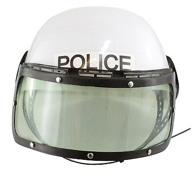 Kids Police Officer Plastic Costume Helmet