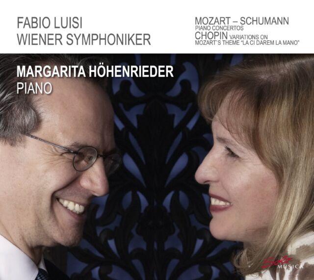 MARGARITA/LUISI,FABIO HÖHENRIEDER - KLAVIERKONZERTE  CD NEU MOZART/SCHUMANN