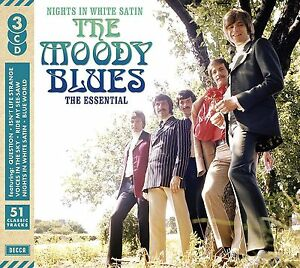 MOODY BLUES NIGHTS IN WHITE SATIN: THE ESSENTIAL 3 CD SET