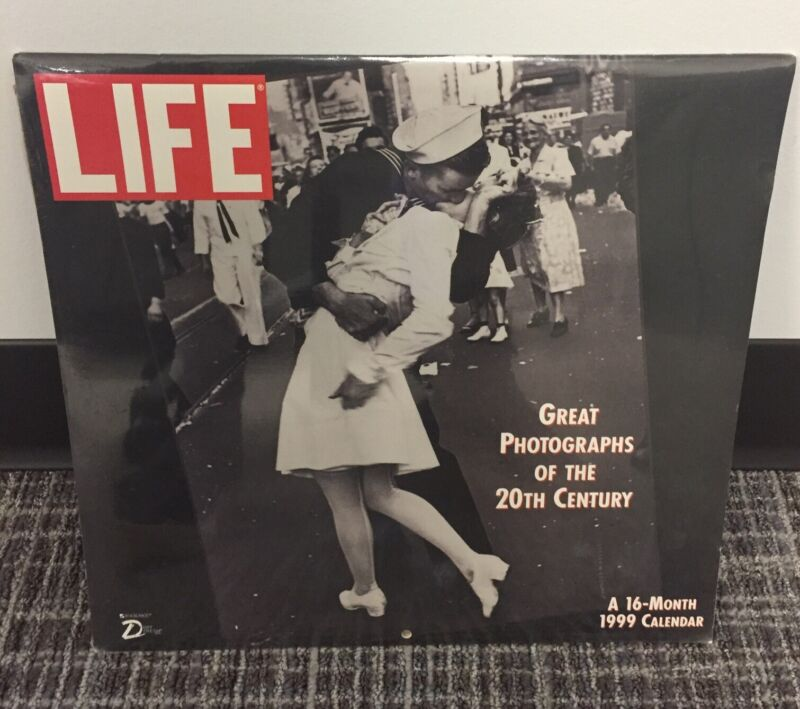 1999 Life magazine Wall 16 month Calendar FACTORY SEALED