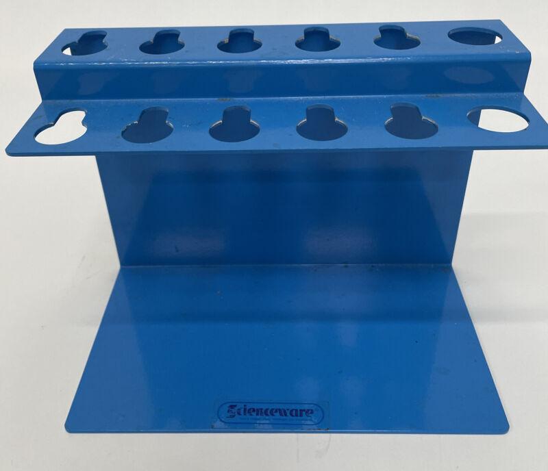 SP Bel-Art Poxygrid Aluminum Microliter Pipettor Rack for Gilson Pipetman