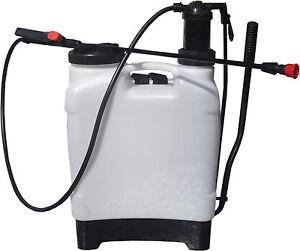 16L-Litre-Water-Spray-Bottle-Backpack-Knapsack-Pressure-Sprayer-Weed-Killer-NEW