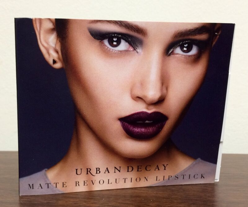 Urban Decay Matte Revolution Lipstick .03 OZ Sample in Matte Bad Blood