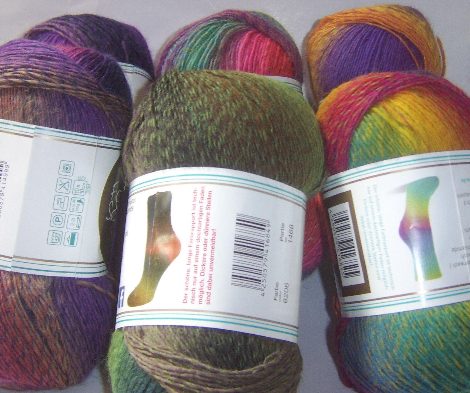 Rellana Flotte Socke  Kolibri  Sockenwolle, Lace