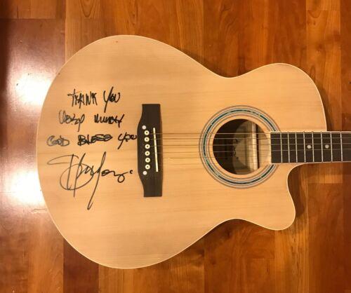* SEU JORGE * signed acoustic guitar * THE LIFE AQUATIC * DAVID BOWIE * 7