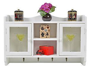wandregal landhausstil m bel ebay. Black Bedroom Furniture Sets. Home Design Ideas