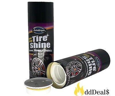 AutoBright One Step Tire Shine Diversion Stash Can Safe 10 oz