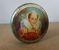 Vintage Mcvitie & Price Biscuits Free Sample Tin Portrait Of A Young Elizabeth 1 - tins - ebay.co.uk