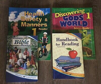 Abeka Readers 1st Grade: Primary Bible, Handbook, Science, Health Safety&Manners for sale  Murfreesboro
