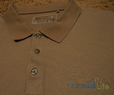 Men's COLONIAL LIFE Insurance Company Golf Polo Shirt Cutter & Buck XXL