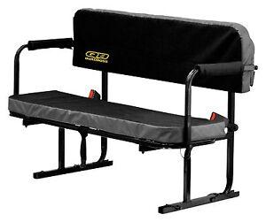 QuadBoss Universal UTV SXS Rear Bed Jump Bench Seat TX310