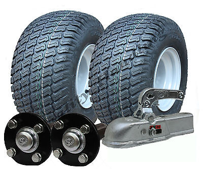 Heavy duty ATV trailer quad trailer kit 750kg, wheels hubs axle hitch