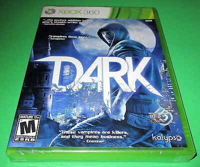 Dark Microsoft Xbox 360 *Factory Sealed! *Free Shipping!