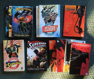 MARVEL and DC Trade Paperback SALE