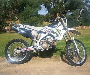 2008 Yamaha WR250F Hahndorf Mount Barker Area Preview