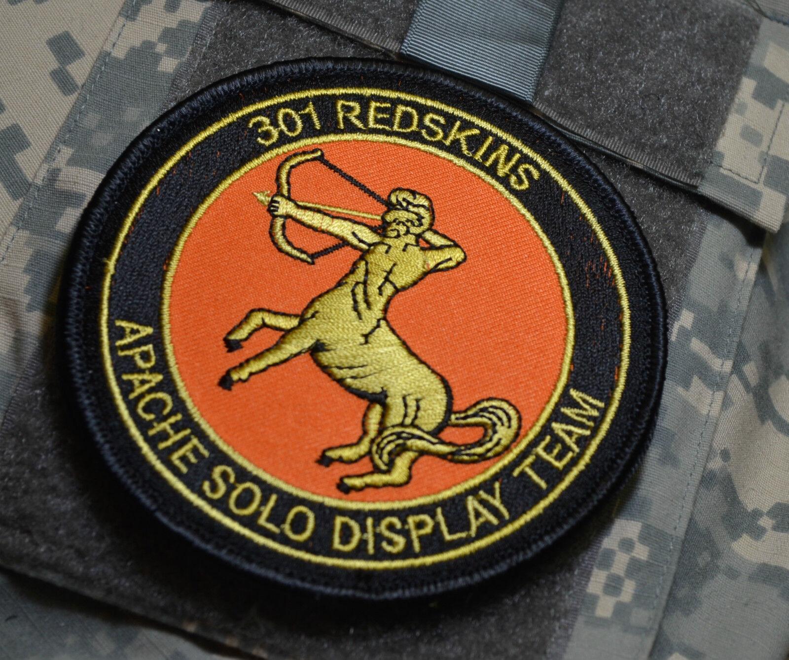 Ronlaf Niederlande Air Force 301 Redskins AH-64D Apache Solo Display Demo Team