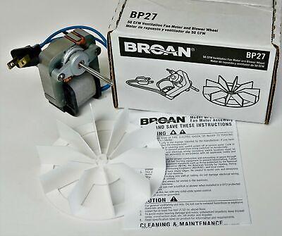 Bp27 Broan Nautilus Vent Bath Fan Motor For 662 668 678 99080404 50n2