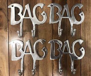 4 x 'BAG' Hooks ** BRAND NEW ** Botany Botany Bay Area Preview