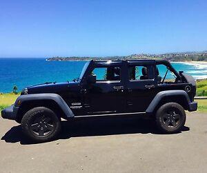 Jeep Wrangler Unlimited 4 Door Cronulla Sutherland Area Preview