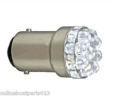 BOATER SPORTS BOAT, MARINE BOW LIGHT/BULB LED REPLACEMENT 51586,WHITE, 12V, #90