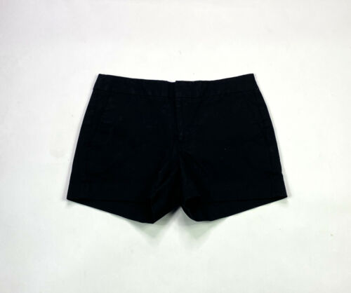Banana Republic Hampton Fit Womens Size 4 Black Chino Shorts