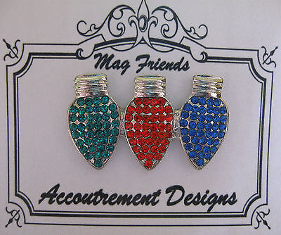 Accoutrement Designs Christmas Light String Bulb Needle Minder Magnet