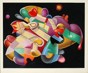Yankel Ginzburg - Candy Store, hand-signed serigraph