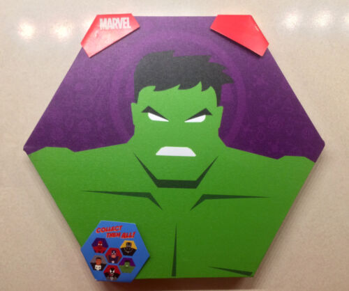 THE HULK - Marvel Comics Canvas Art - WITH - Wood Frame (~12 x 12 inches)