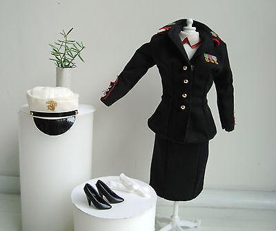 BARBIE Clothes/Fashions Military Marine Corps Uniform Complete Set NEW!