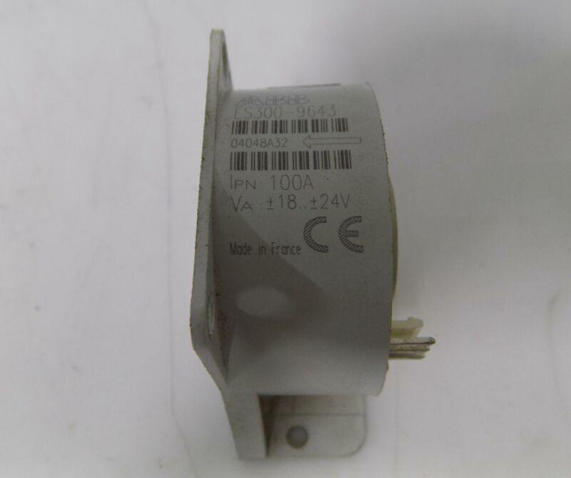 ABB 100AMP CURRENT TRANSDUCER ES300-9643