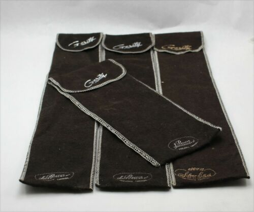 Pacific Silver Cloth Anti-Tarnish Individual Storage Bags - Set of 4