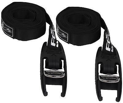 FCS Tie Down Straps - Premium D Ring - New