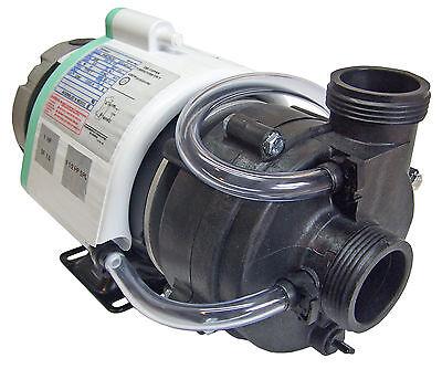 """X-Spadition Hot Tub Pump, 1hp, 1.5 SPL,Ultra Jet 1.5"""" w/Ther"""