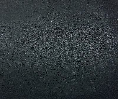 POLYURETHANE NAVY BLUE DISTRESSED FAUX LEATHER VINYL TYPE AUTO YACHT FABRIC BTY