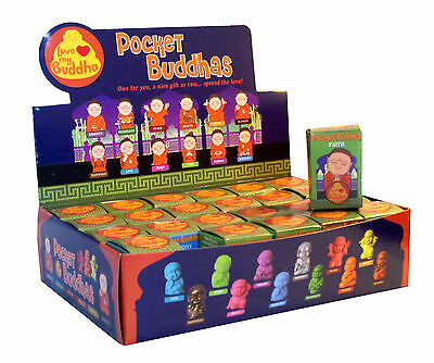 Pocket Buddha Buddhism 24 Mini Figure Figurine Toy Series 2 with Counter Top Box