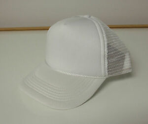CLASSIC TRUCKER FOAM FRONT MESH HAT BASEBALL CAP NEW