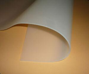 Silikon 60, Silikon-Platte, transparent, 300x 210x 5mm, DIN A4